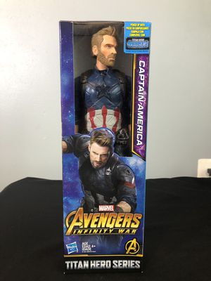 Captain America Action Figure for Sale in Fairfax, VA