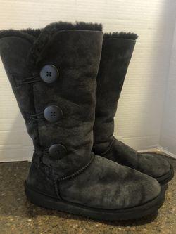 Women's Black Ugg Like Boots Size 8 for Sale in Manassas,  VA