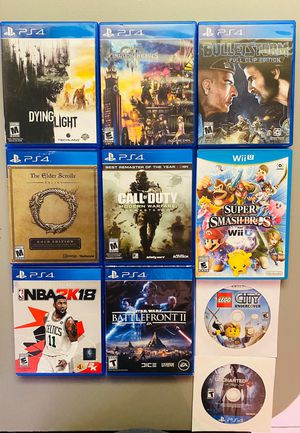PS4 & Nintendo Wii U Games for Sale in Miami, FL