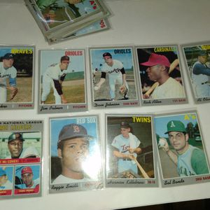 1970 Topps BASEBALL cards for Sale in San Jose, CA