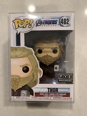 Thor with Stormbreaker & Mjolnir Funko Pop FYE Exclusive Marvel Avengers Endgame 482 with protector for Sale in Lewisville, TX