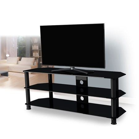 $10 OFF IF YOU PICKUP NOW! Reduced to sell Glass tv stand