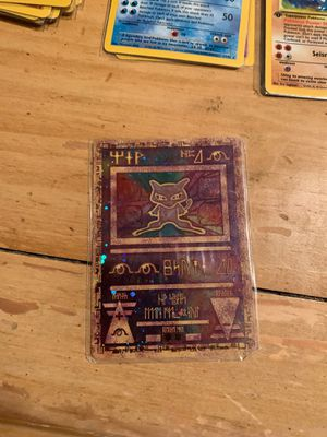 Ultra rare ancient Japanese mew Pokémon card fully holographic for Sale in Dacono, CO