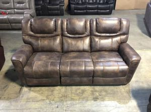 Brand New Brown Power Reclining Living room Set for Sale in La Vergne, TN
