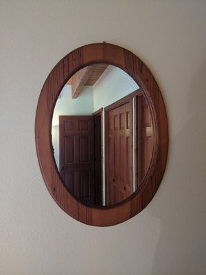 Oval wall mirror for Sale in Enumclaw, WA