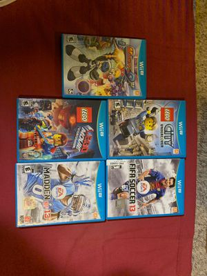 Nintendo Wii U video games for Sale in Fort Worth, TX