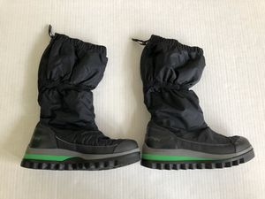STELLA McCARTNEY Adidas Black Snow Tall Waterproof Insulate Boots Women's 7.5. NEW Climaproof insulated back zip boots. No-slip grip. for Sale in Washington, DC