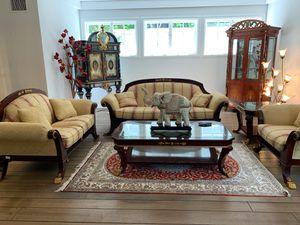 High end 6-piece designer living room set for Sale in Beverly Hills, CA