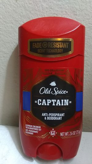 Old spice Captain anti-perspirant and deodorant for Sale in Burbank, CA