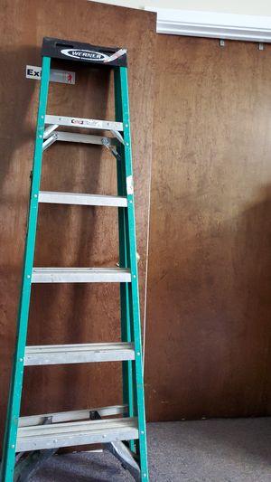 6' foot Werner fiberglass ladder $30 for Sale in MD, US