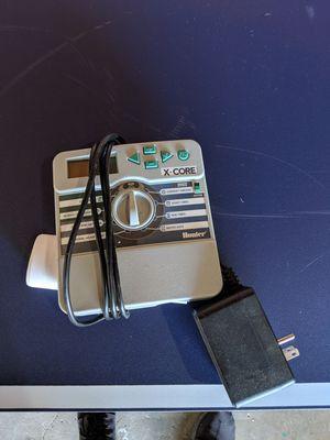 Hunter x-core 4 zone sprinkler controller for Sale in San Diego, CA