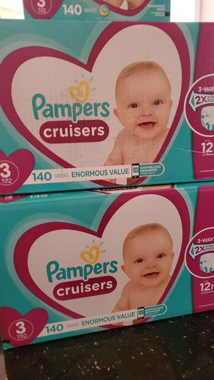 Pamper Cruisers Size 3 for Sale in Goodyear, AZ