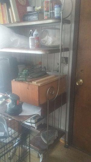 Bakers rack/ computer desk for Sale in Peshastin, WA