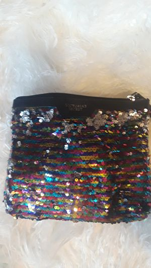Victoria's Secret makeup bag with makeup for Sale in Indianapolis, IN