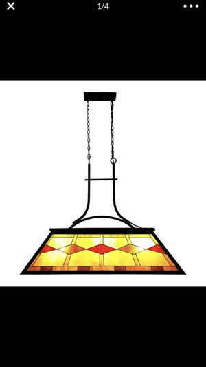 Billiard Hanging Lighting Fixture for Game Room 7'-9' Table, 3 Lights Kitchen Island for Sale in Apple Valley, CA