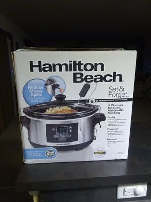 Hamilton Beach set and go crock pot for Sale in Apopka, FL