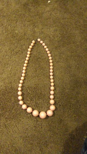 Vintage Antique Pink Beaded Necklace for Sale in Lakeside, CA