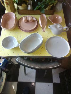 Vtg.RUSSEL Wright dinnerware for Sale in Lodi, CA