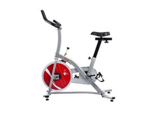 Sunny Health & Fitness Indoor Exercise Stationary Bike with Digital Monitor and 22 LB Chromed Flywheel Spin for Sale in Las Vegas, NV