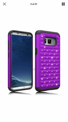 Purple case for Samsung Galaxy S7 New for Sale in Denver, CO