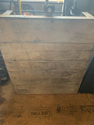 Old wooden furniture cart for Sale in Trinity, NC