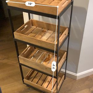 4-Tiered Vegetable Storage Rack for Sale in Brooklyn, NY