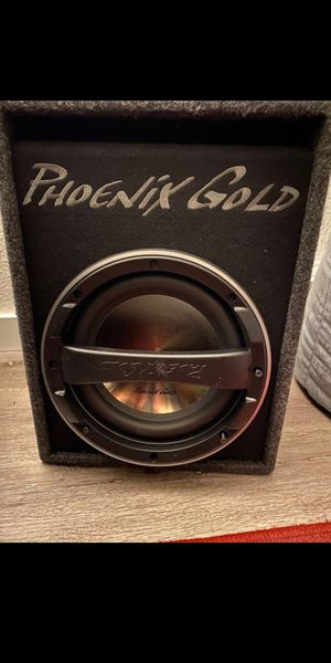 Phoenix gold amp and sub for Sale in Tacoma, WA