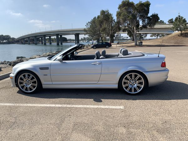BMW M3 2005 convertible SMG transmission automatic and manual
