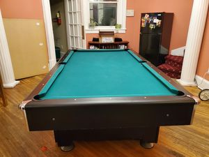 Pool table 8ft bt 4ft with pingpong conversion for Sale in Washington, DC