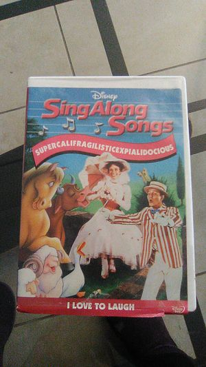 Mary poppins Sing along songs dvd for Sale in Davenport, FL