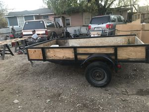 10 pies por 6 pies utility trailer bill off sale shop made for Sale in Dallas, TX