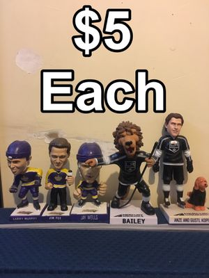 Los Angeles Kings NHL Hockey Bobbleheads for Sale in Ontario, CA