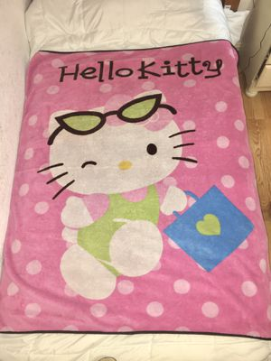 Hello Kitty Blanket for Sale in Fort Worth, TX