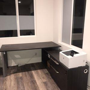 L Shaped Home Office Desk - Left Or Right Corner Setup for Sale in Irvine, CA