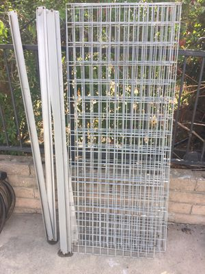 "5 metal shelves (60"" long by 23 1/2"" wide) for Sale in Rancho Cucamonga, CA"