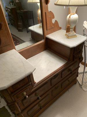 Antique Marble Wooden Furniture for Sale in Atlanta, GA