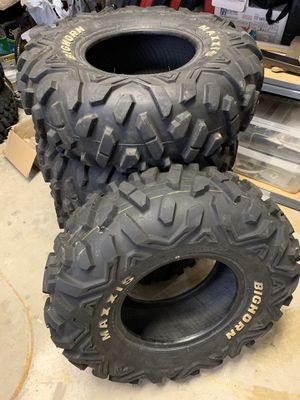 Maxxis Bighorn set, 26x9R12, 26x12R12 for Sale in Redlands, CA