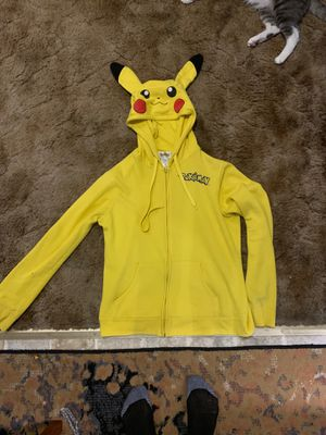 Size XL Pokémon hoodie! With ears from hot topic for Sale in Everett, WA