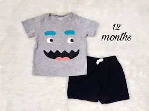 Carter's baby short set for Sale in Perris, CA