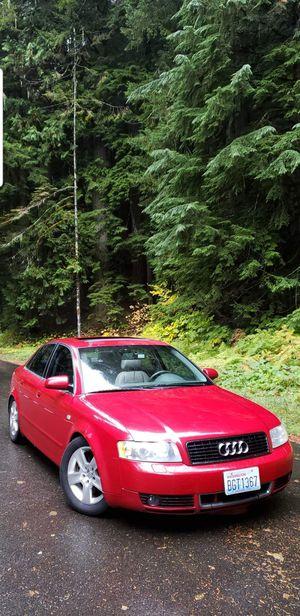 03' Audi A4 Quattro 3.0L Turbo 6spd. for Sale in Lacey, WA