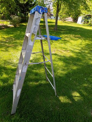 6' aluminum stepladder for Sale in Bowie, MD