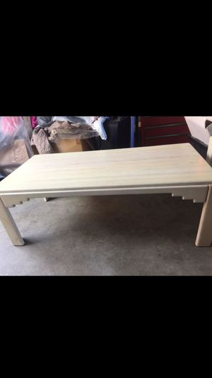 3 wood tables for Sale in Hemet, CA