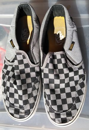 Men's Slip On Checkerboard Vans Size 8 for Sale in Webb City, MO