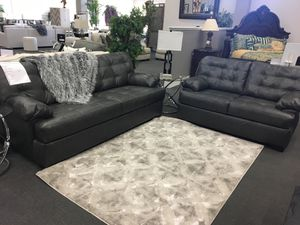 100% top grain leather! Sofa & love seat (Financing available) for Sale in Modesto, CA