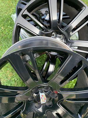Rims 26 inch Cadillac / GMC All Black for Sale in Detroit, MI