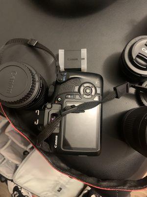 Canon EOS rebel T6 digital SLR for Sale in Atlanta, GA