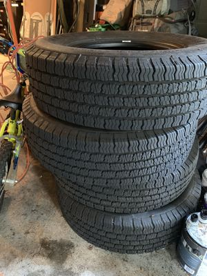 Michelin X Radial LT - set of 4 LT 245/75 R16 Tires for Sale in Bellevue, WA