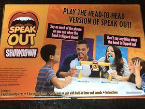 Speak out showdown board game for Sale in Miami, FL