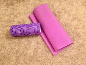 Yoga mat and foam roller for Sale in Denver, CO