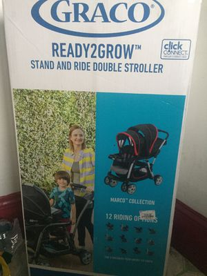 New graco stand and ride double stroller for Sale in Providence, RI